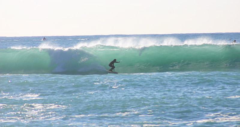 Surf en mediterranée - Villefranche sur mer