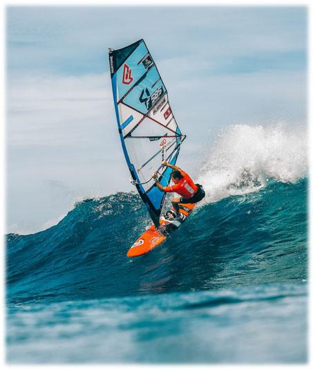 alex grand-guillot - windsurf - ambassadeur Sportihome