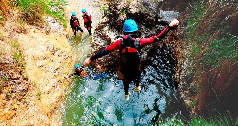 Canyoning à Granada