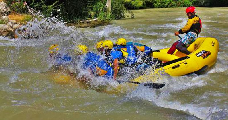 Rafting en Andalousie
