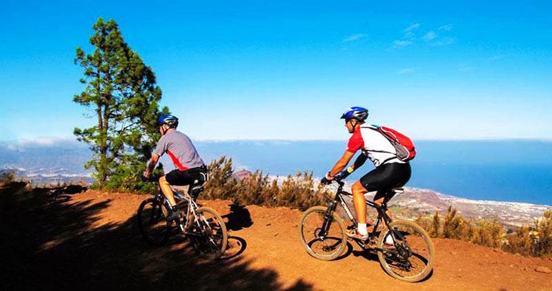 VTT sport a Tenerife