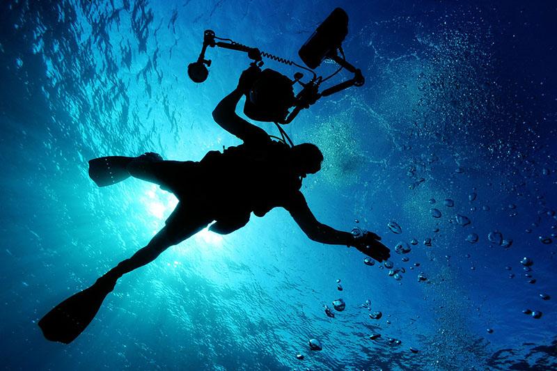 découverte des fonds marins