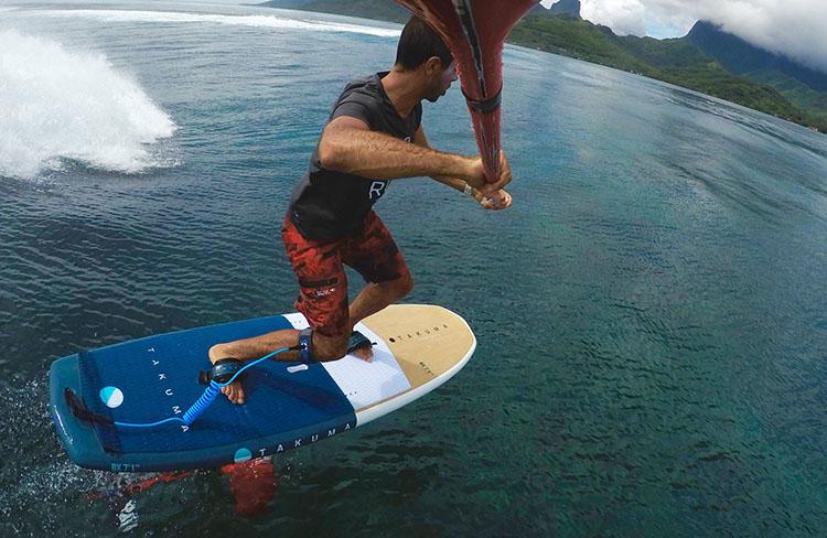 foil paddle