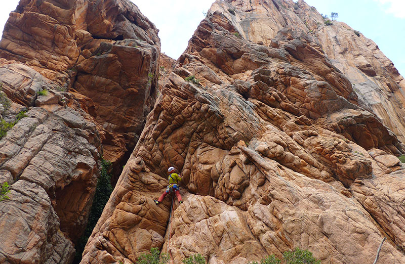 Escalade en Corse
