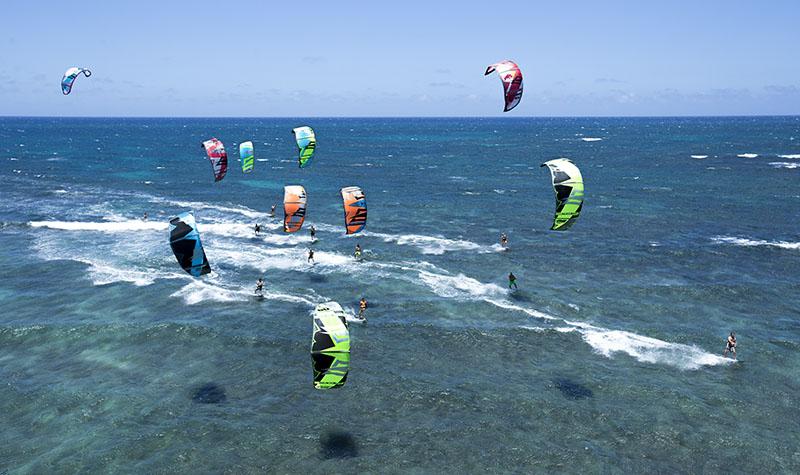 spots pour commencer le kitesurf