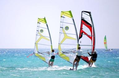 Debuter le windsurf