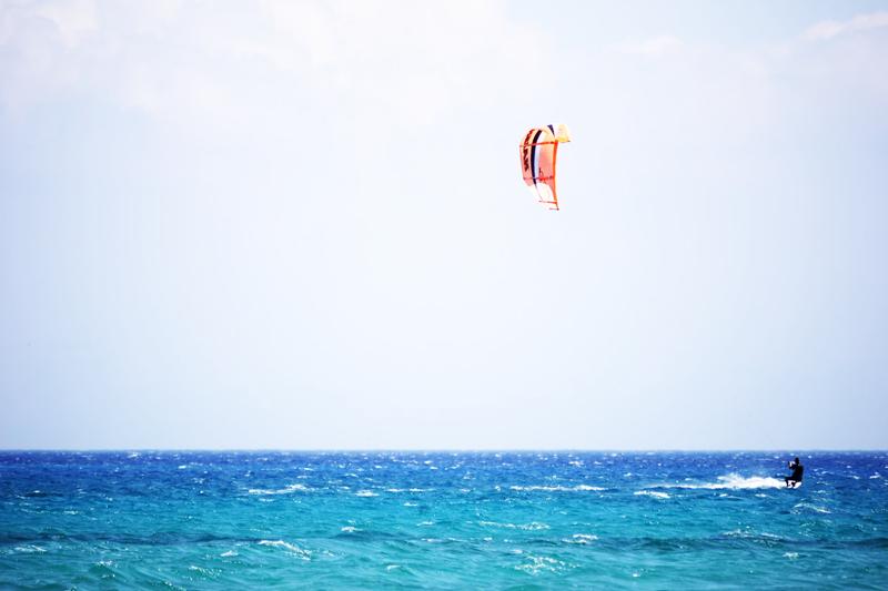 Le spot de kitesurf de Fromentine