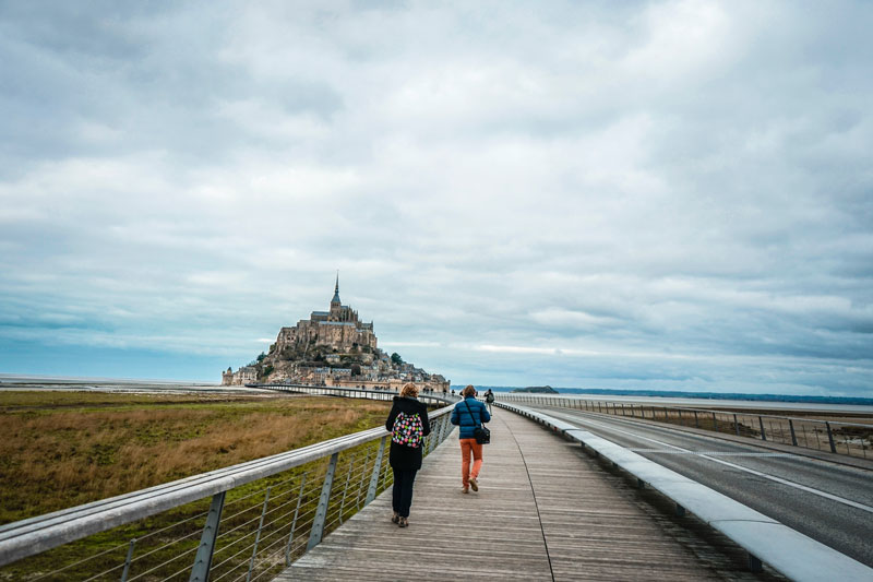 Du Mont Saint-Michel à Dol de Bretagne, étape incontournable du GR34 à faire le temps d'un week-end