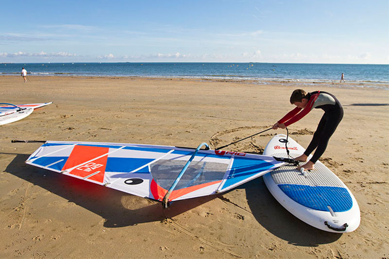 windsurf - comment lever sa voile