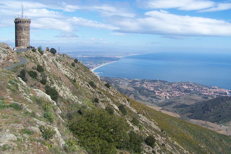 Le Pays Catalan en rando VTT : Argelès-sur-Mer