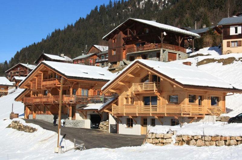 Logement à Arêches-Beaufort au plus près des spots de ski freeride hors piste