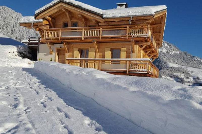 Logement à Notre Dame de Bellecombe au plus près des spots de ski freeride hors piste