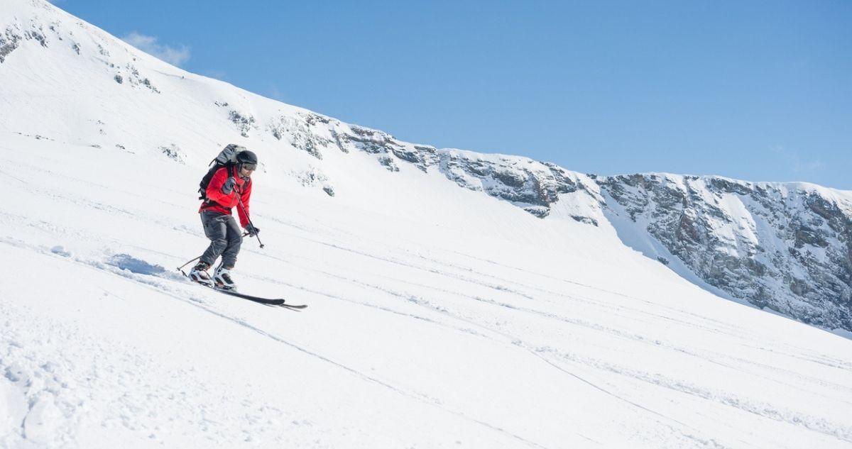 ski freeride la grave
