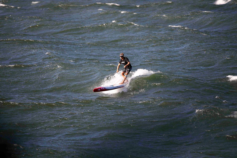Surfer la vague la plus longue en SUP
