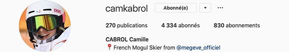 Instagram Camille Cabrol