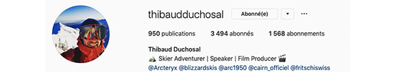 Instagram Thibaud Duchosal