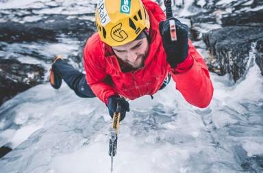 Jeff Mercie - cascade de glace