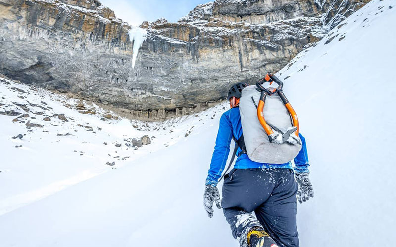 où pratiquer la cascade de glace