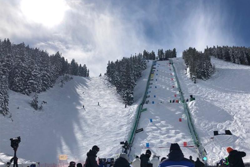 parcours ski de bosses