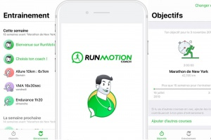 RunMotion Coach, l'app digitale