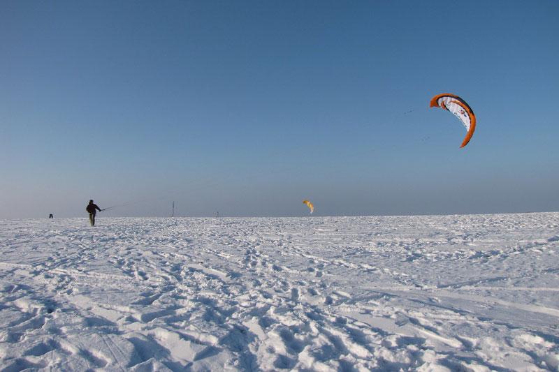 Respecter la météo pour avoir de bonnes conditions de snowkite