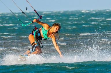 ou faire du kitesurf