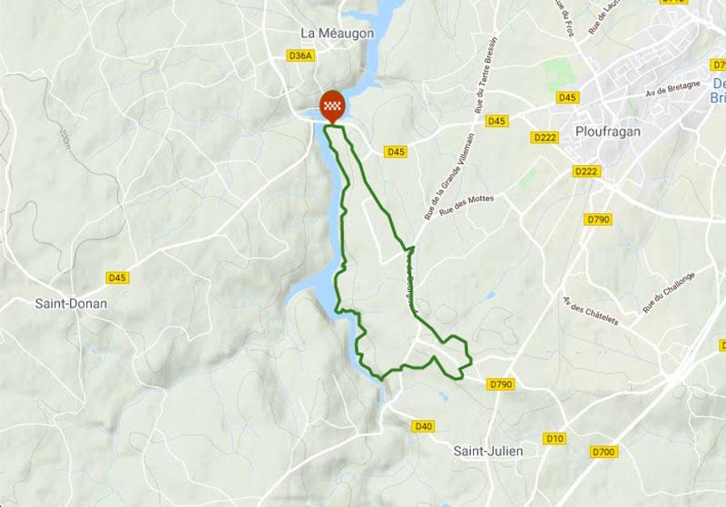 Topo guide parcours VTT en bretagne