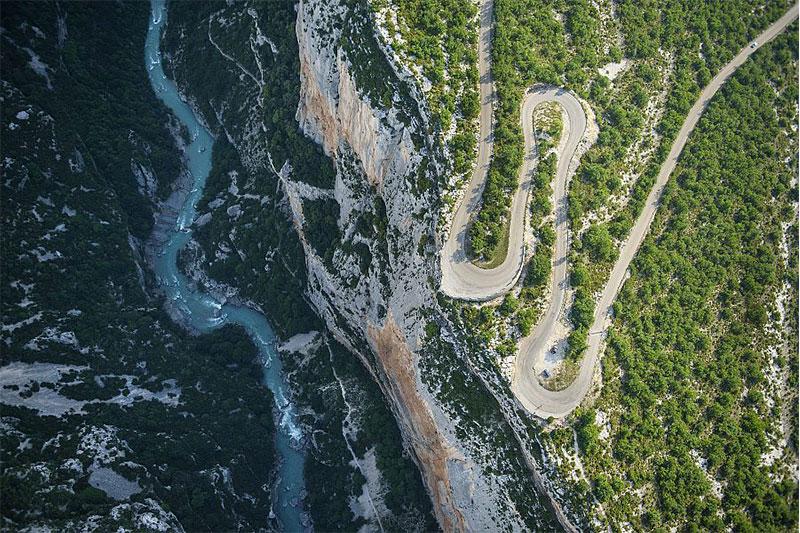 GR 406 route de Napoléon GR france
