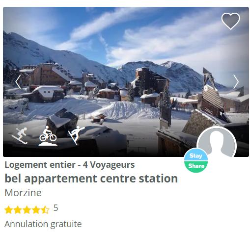 logement à Morzine
