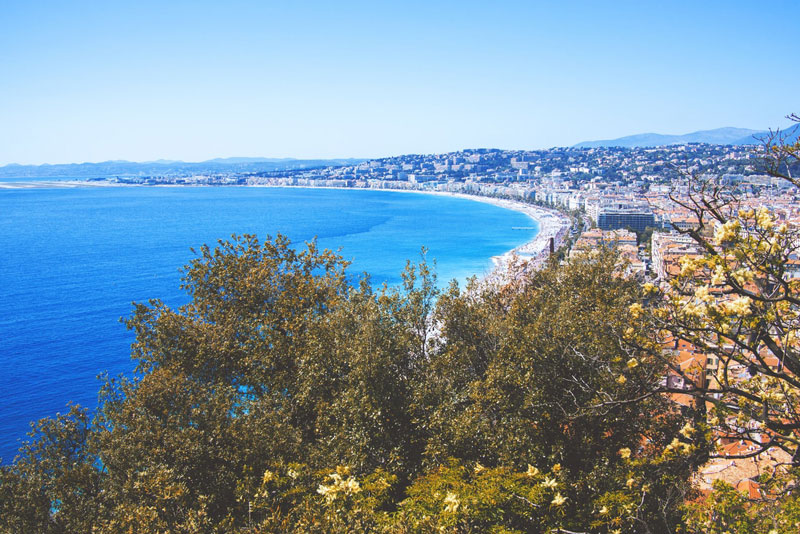 spots de SUP à Nice