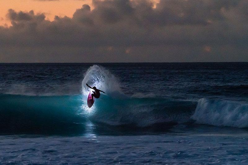 comment faire du surf de nuit