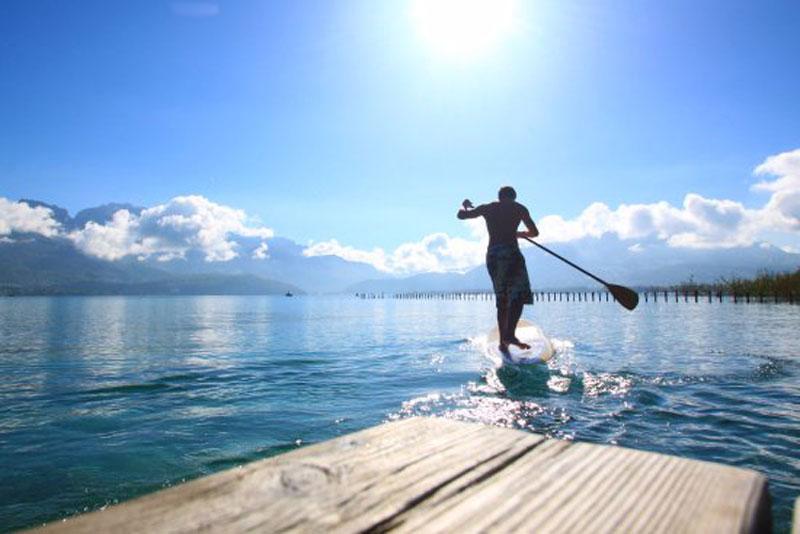 Où faire du paddle à Annecy ?
