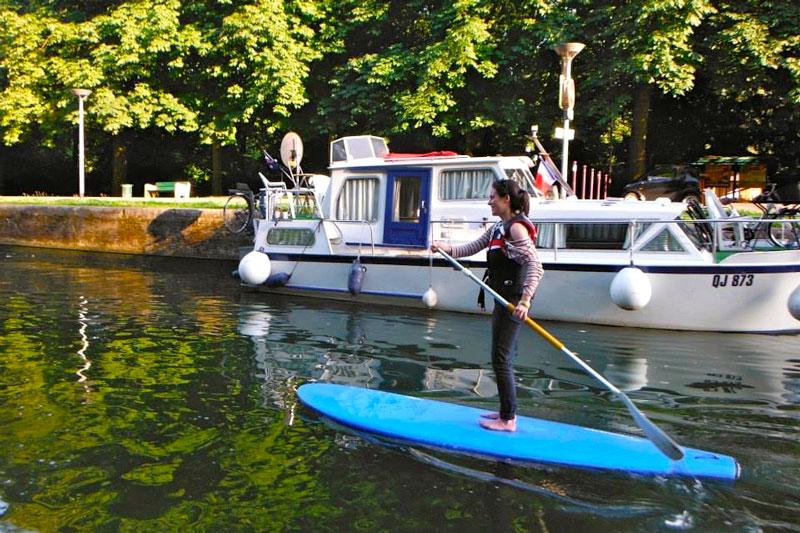 Où faire du paddle à Lille ?