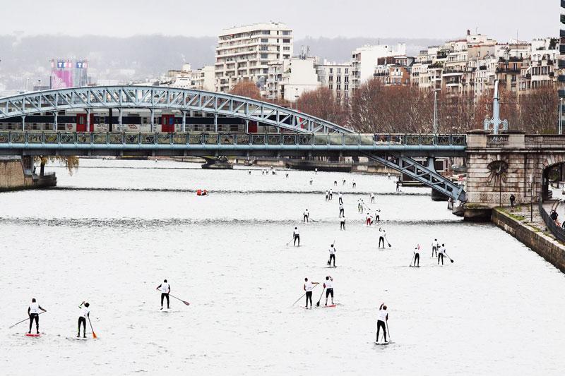 où faire du paddle à Paris