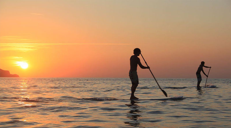 stand up paddle vers Montpellier