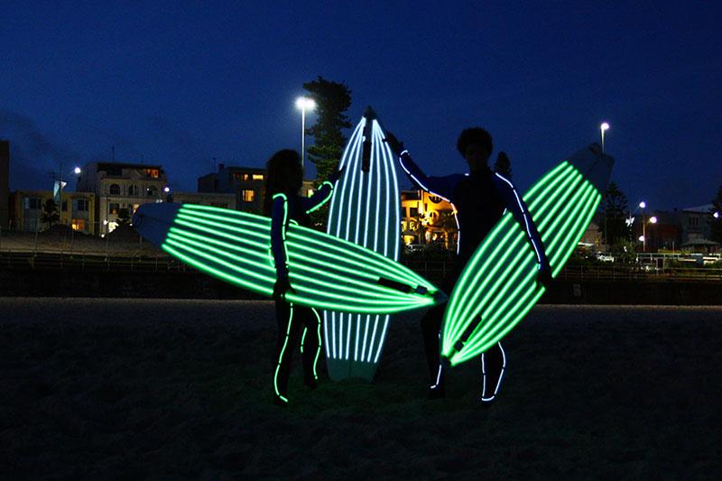 surf de nuit anglet