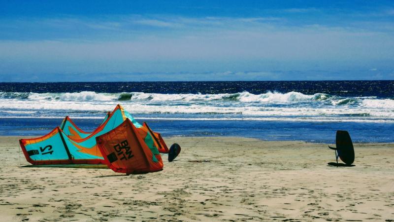 kitesurf sur le meiller sport du Portuga