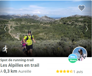 spot running trail Aureille