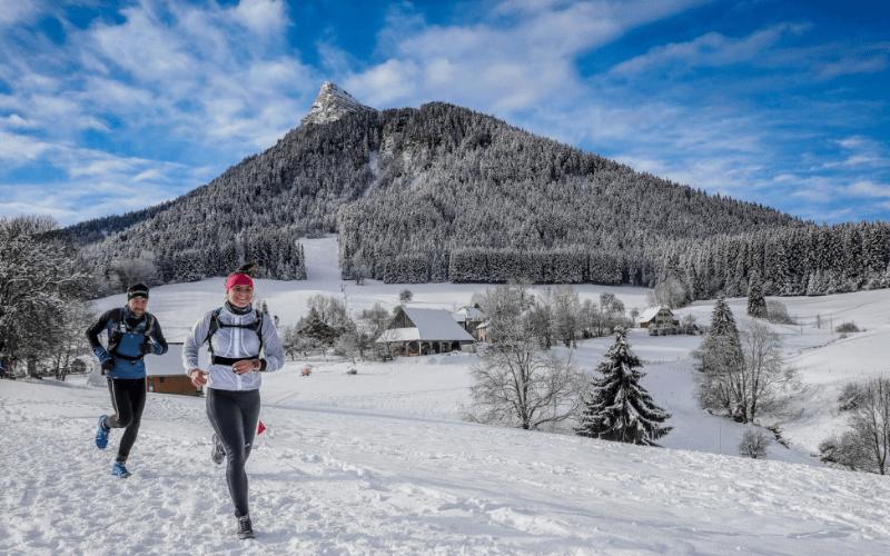 trail sur neige