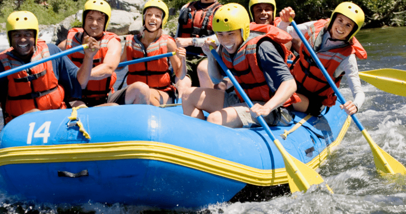 en quoi consiste le rafting ?