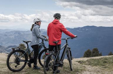 vélo electrique trekking