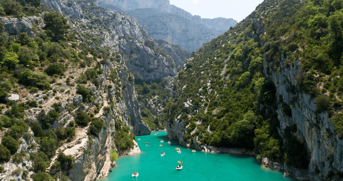 Canoe lac de sainte croix