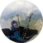 Laurie Genovese - Parapente