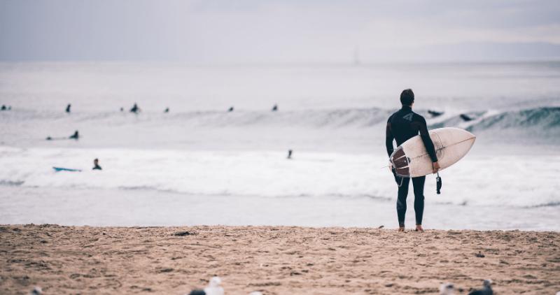 week end surf