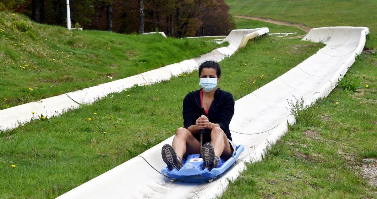 piste bobsleigh