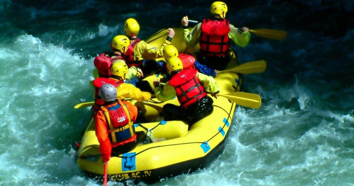 rafting plein air