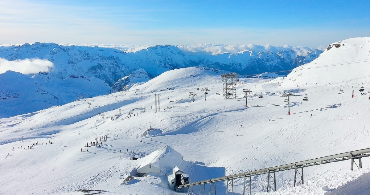 Station les 2 Alpes