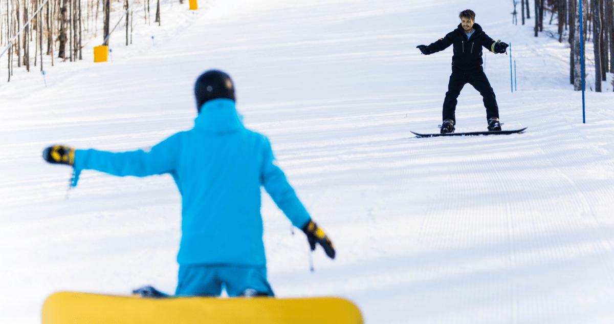 Débuter le snowboard