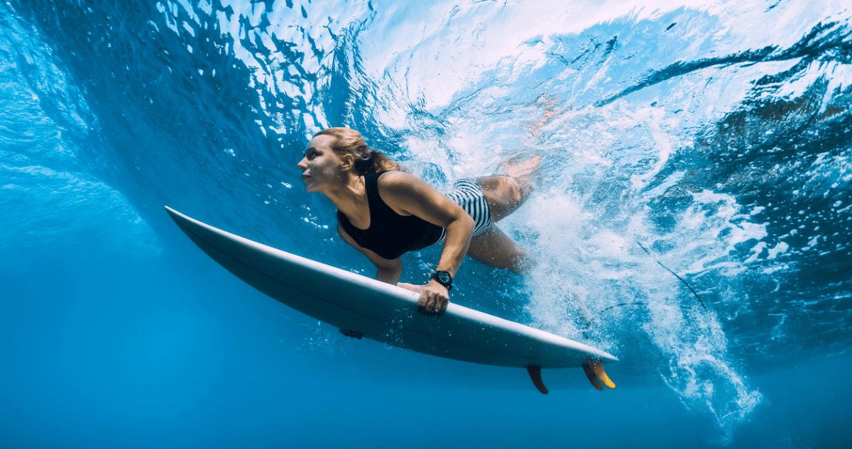 surf bodyboard vague