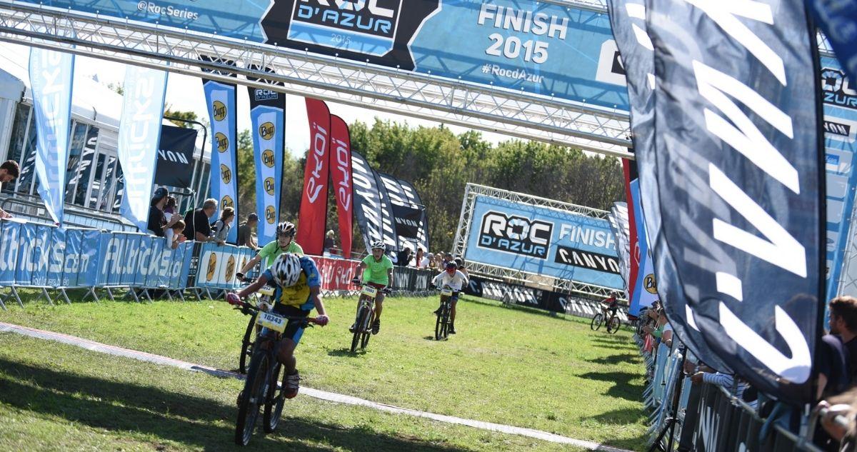 Roc d'Azur 2021 arrivée course